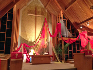 Pentecost Sunday Decor